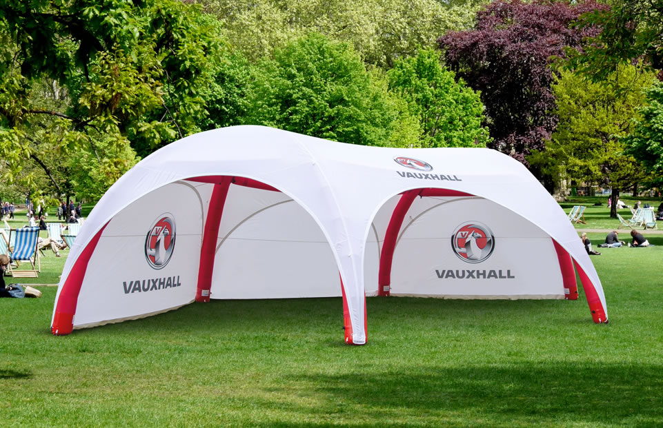 Hexa VAUXHALL event tent AXION4EVENT
