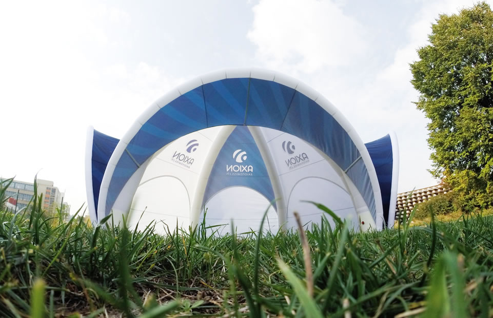 Spdier AXION event tent AXION4EVENT