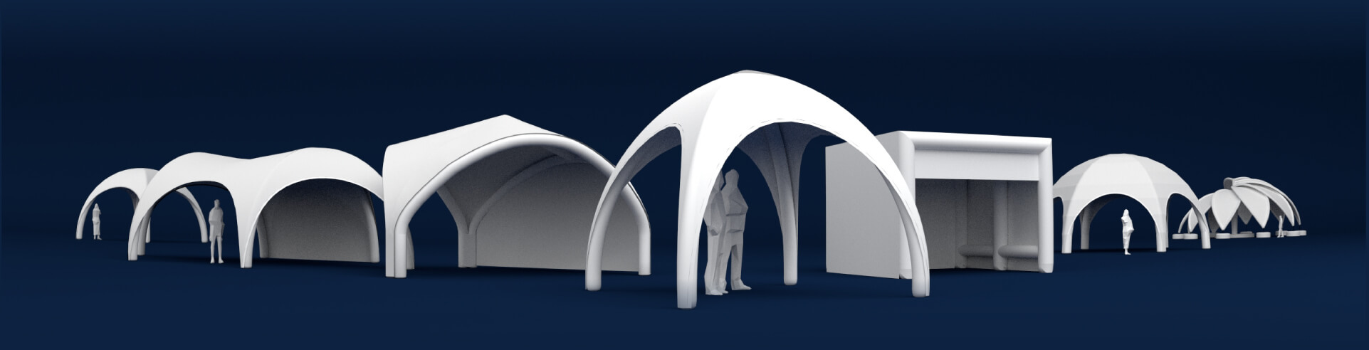 THE WIDEST RANGE OF INFLATABLE EVENT TENTS