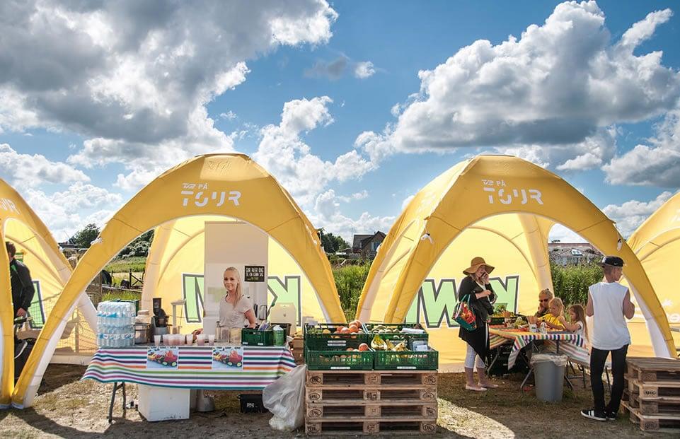 Lite Zlatý bažant Radler 0% event tent AXION4EVENT